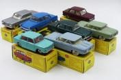 Dinky Toys Afrique du Sud Chevrolet Corvair, Simca 1000 et Opel Rekord