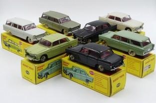 Dinky Toys Afrique du Sud Fiat 1800 break et Peugeot 404