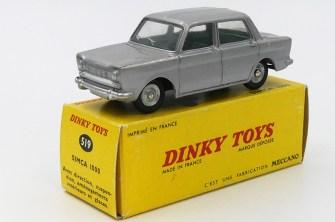 Dinky Toys Simca 1000 essai de couleur