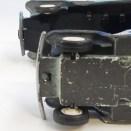 Buby Willys Jeep estanciera (chassis en tôle et en plastique : variante de pare chocs)