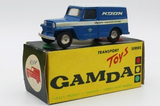 "Gamda Willys jeep tôlée ""Amcor"""