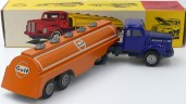 "Tekno Scania 110 semi citerne""Gulf"" bouchons en zamac"