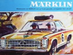 Märklin couverture de catalogue avec miniature ...Mercury ! mais de marque Mercedes !