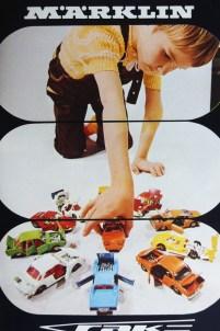 Märklin couverture de catalogue post 68 avec enfant jouant