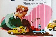 Märklin couverture de catalogue avec enfant jouant