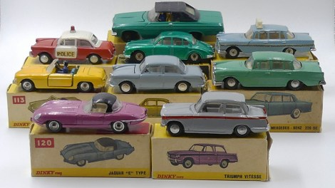 Dinky Toys Inde ensemble
