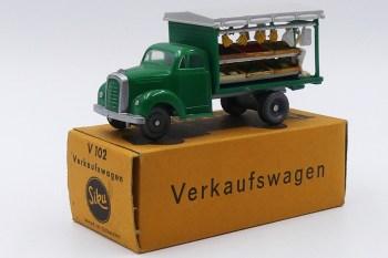 Siku Borgward camion primeur. Que dire de plus? on reste sans voix devant un tel objet.