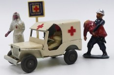 "Polichinelle Willys Jeep ambulance ""Croix Rouge Française"""