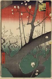 Hiroshige Pruneraie à Kameido