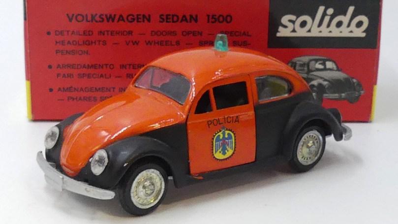 Solido brosol Volkswagen 1500 policia