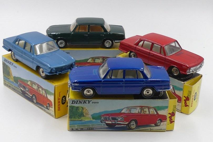 Dinky Toys Poch et Dinky Toys France BMW 1500