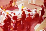 photo prise des stands BMW lors de l'édition 1977.. c'est déjà fini pour la Porsche 936 numéro 3