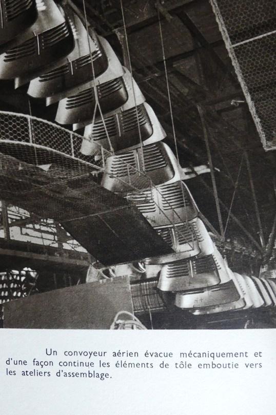 l'atelier d'emboutissage de l'ïle Seguin : plus de 100 presses