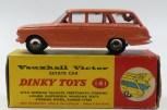 Dinky Toys Afrique du Sud Vauxhall Victor break : d'épaisseur de la charnière du hayon