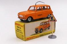 Dinky Toys Renault 4L autoroutes