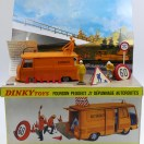 Dinky Toys Peugeot J7 autoroutes