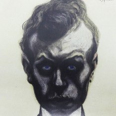"""Léon Spilliaert """"Autoportrait 1903"""""""