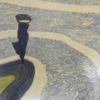 """Léon Spilliaert """"Femme au bord de l'eau"""""""
