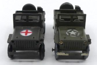 Gasquy Septoy Willys Jeep militaire de première et de seconde génération