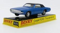 Dinky Toys Ford Thunderbird coupé 68 avec pavillon vinyl
