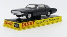 Dinky Toys Ford Thunderbird coupé 68 couleur de la DS présidentielle