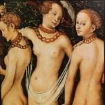 Cranach Le jugement de Pâris 1528