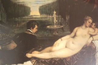 Le Titien Vénus, l'amour et la musique 1545