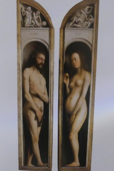 Jan Van Eyck Adam et Eve