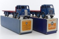 Dinky Toys Foden Mk 1 et Mk 2 plateau