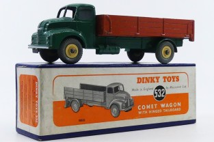 Dinky Toys Leyland Comet ridelles (jante crème)