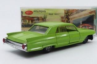 Politoys Mc Gregor Cadillac 62