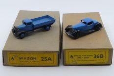 La taille des boîtes de six sont quasiment identique pour les camions ou les autos