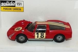 Solido Porsche Carrera 6 (rare boîte plastique)