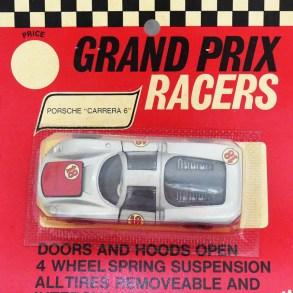 Mercury emballage américain avec Porsche Carrera 6 (1/43)