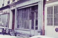le magasin lors de son acquisition en 1983