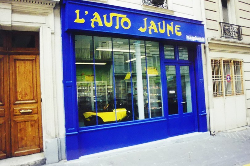 le magasin quelques années après l'ouverture