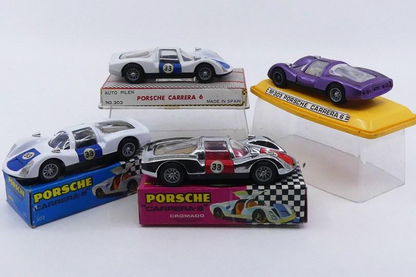 Joal (Espagne ) 1/43 Porsche Carrera 6 (boîtage pour le marché japonais et boîtage espagnol)