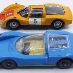 "comparatif Solido Brosol et ""Made in USSR"" Porsche Carrera 6"