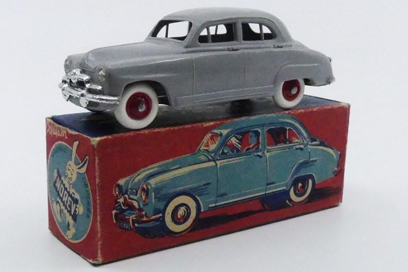 "Norev Simca Aronde premier modèle première boîte ""lapin"""