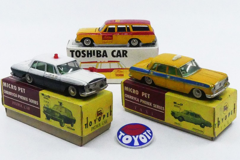 Badge Toyota et modèles Cherryca Phenix