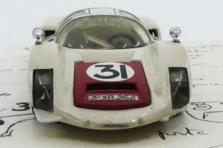 Dinky Toys Porsche Carrera 6 longue Le Mans 1966 prototype en PLASTIQUE