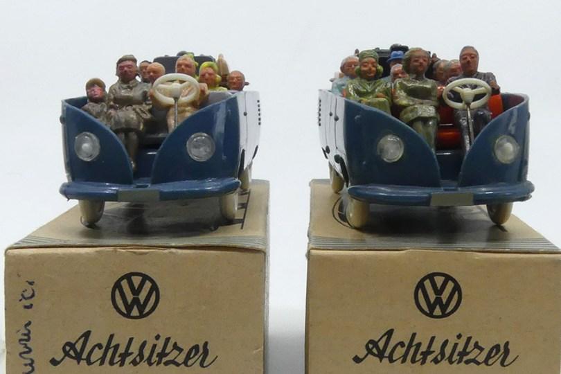 Wiking (Allemagne) VW Kombi type 1 1950 avec 3 adultes ou deux adultes et un enfant