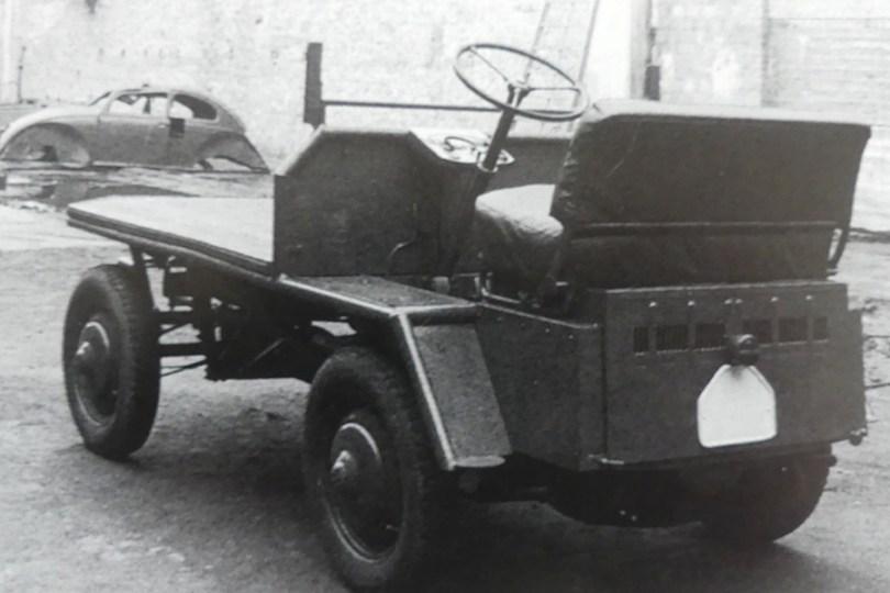 prototype du véhicule circulant à Wolfsburg dans l'usine