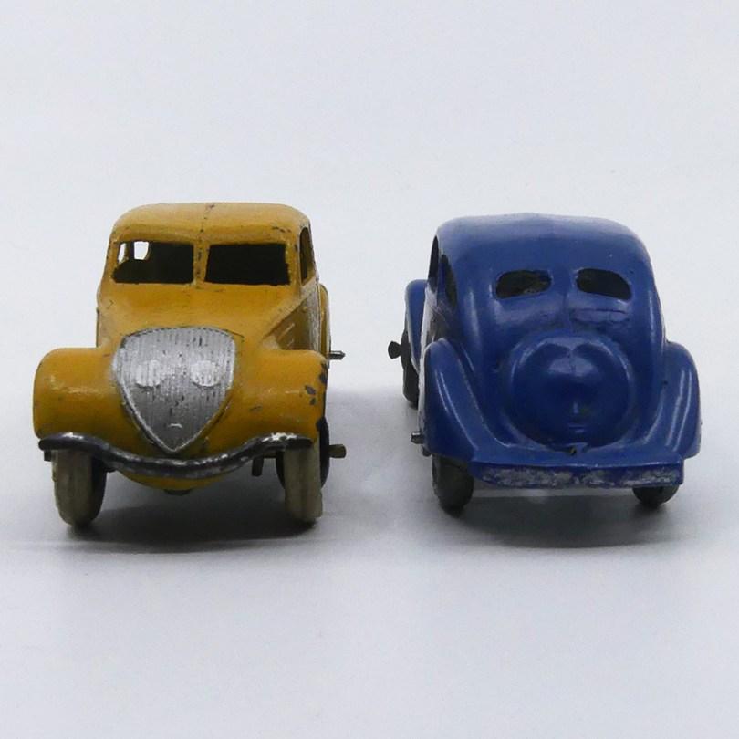 Dinky Toys Peugeot 402 versions avant-guerre