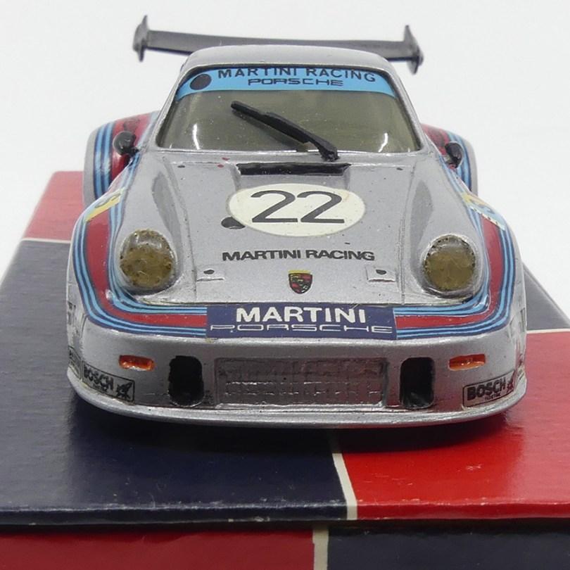 AMR Porsche Carrera RSR turbo Martini 2ème Le Mans 1974 numéro 86 sur 1200