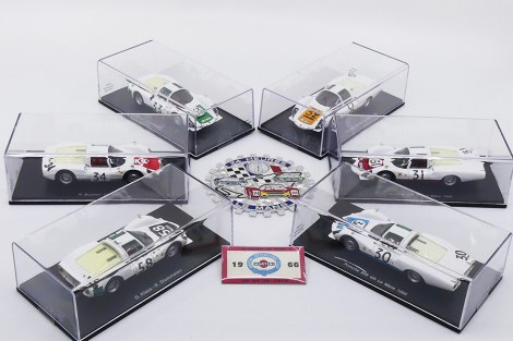 Spark: l'armada Porsche lors de l'édition du Mans 1966