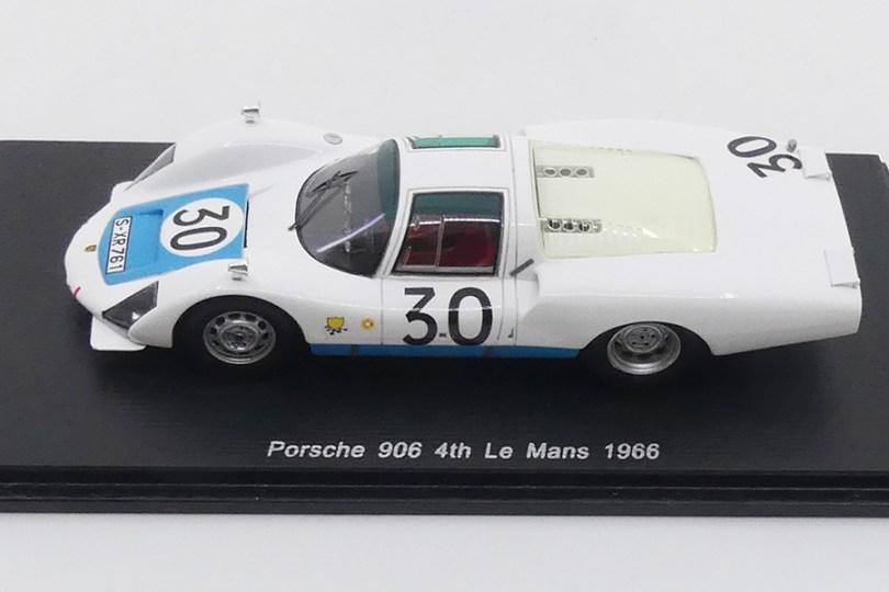 Spark Porsche 906 L Nr 30 Le Mans 1966 : quel réalisme !