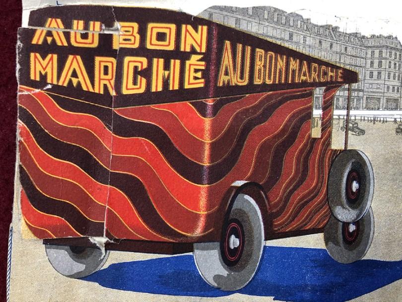 publicité du Bon Marché