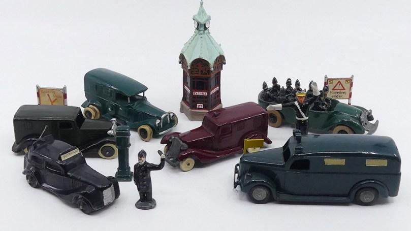 véhicules de police danois circab1930-1950