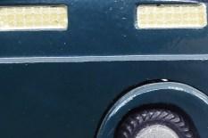 Tekno détails de la grille symbolisant la privation de liberté